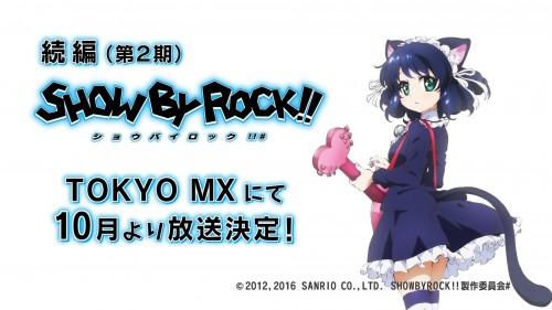 SHOW BY ROCK!! 2期放送決定!