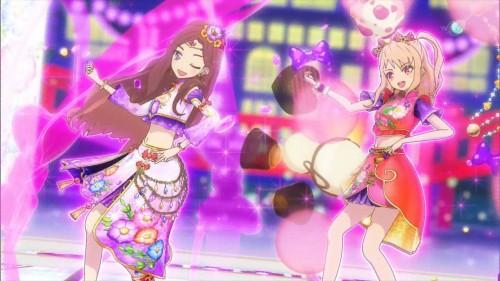 香澄姉妹のステージ