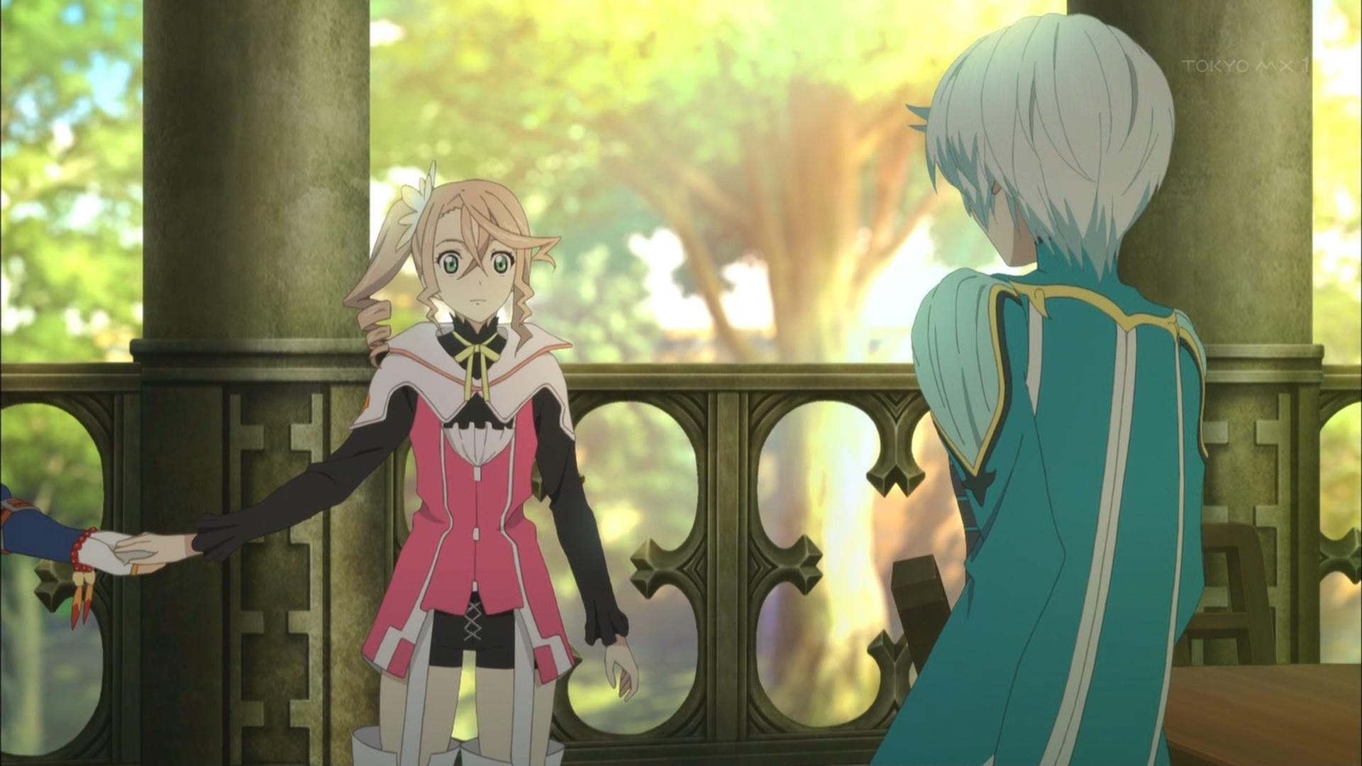 アリーシャとミクリオ&ライラの初会話