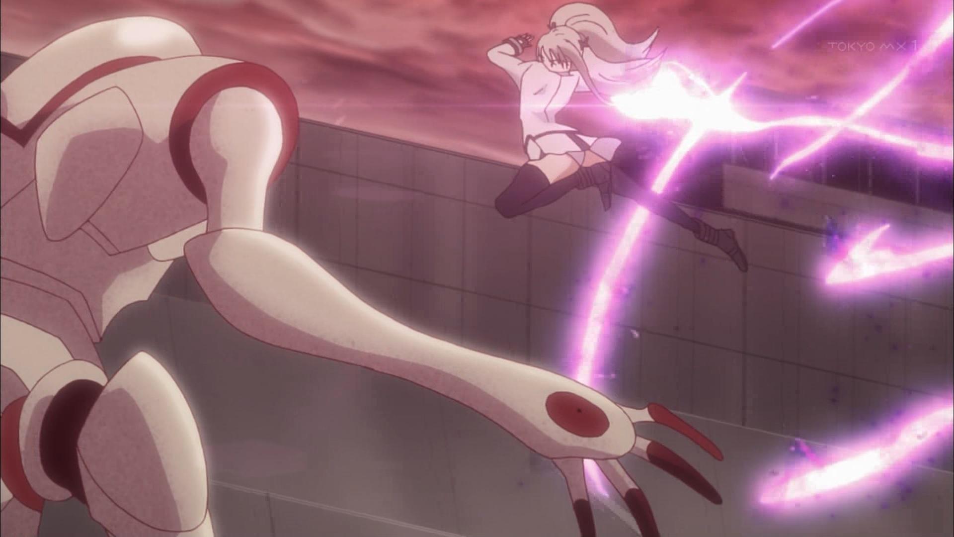 素手で戦う舞姫(パンチラ有)