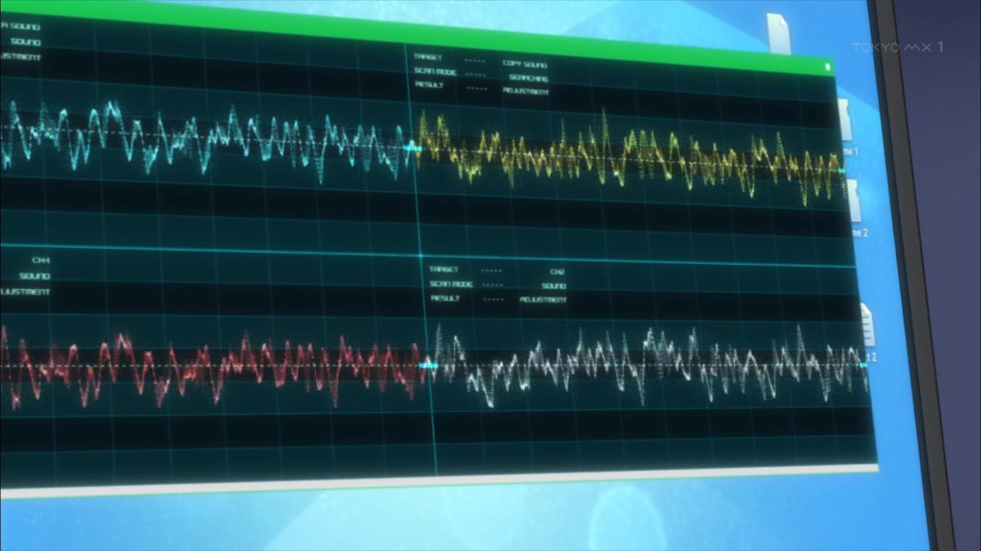 稲城の声紋分析