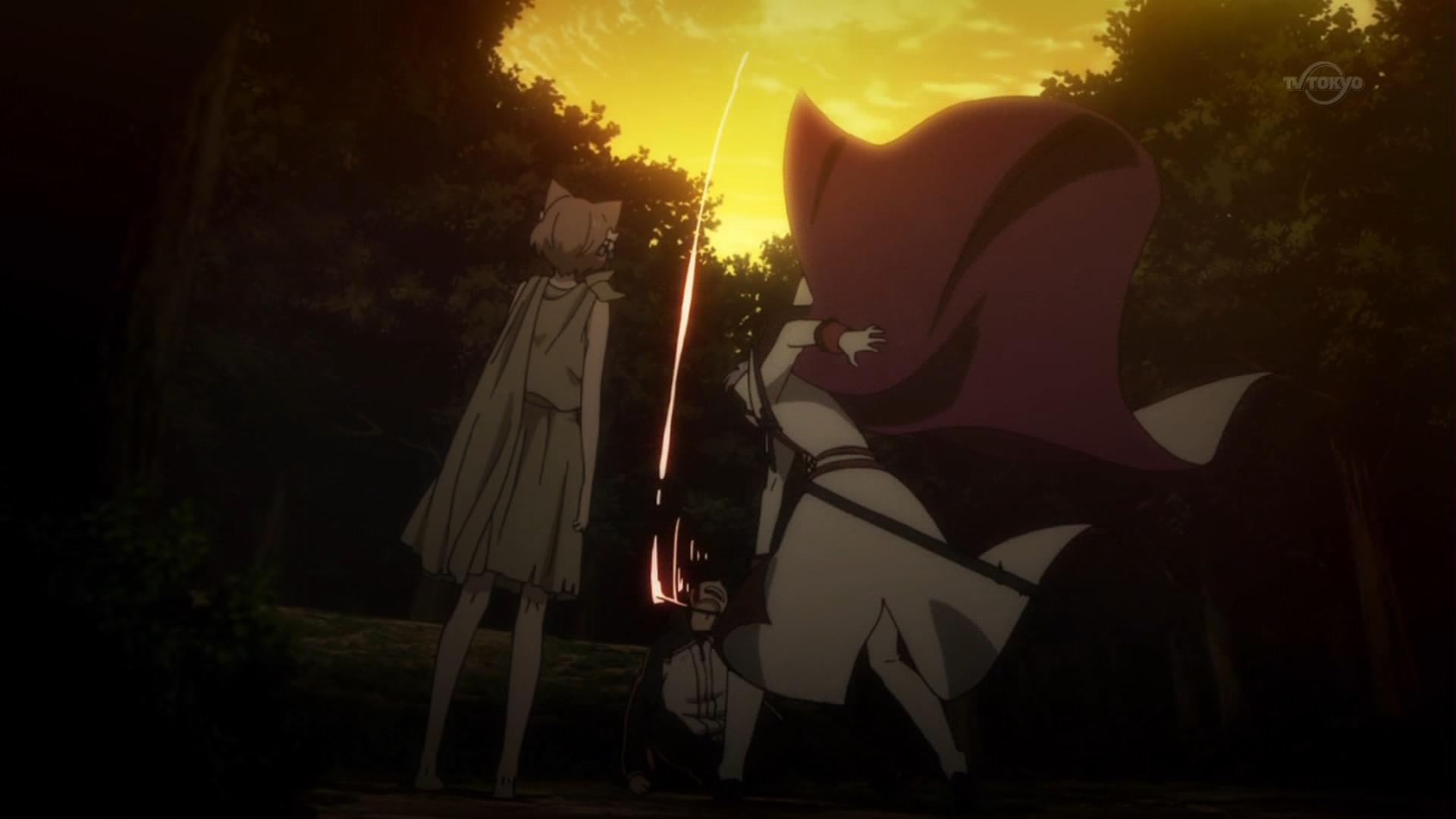 スバルにトドメを刺すユリウス