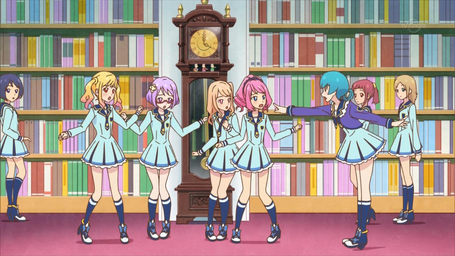 図書室で踊り怒られるゆめ達