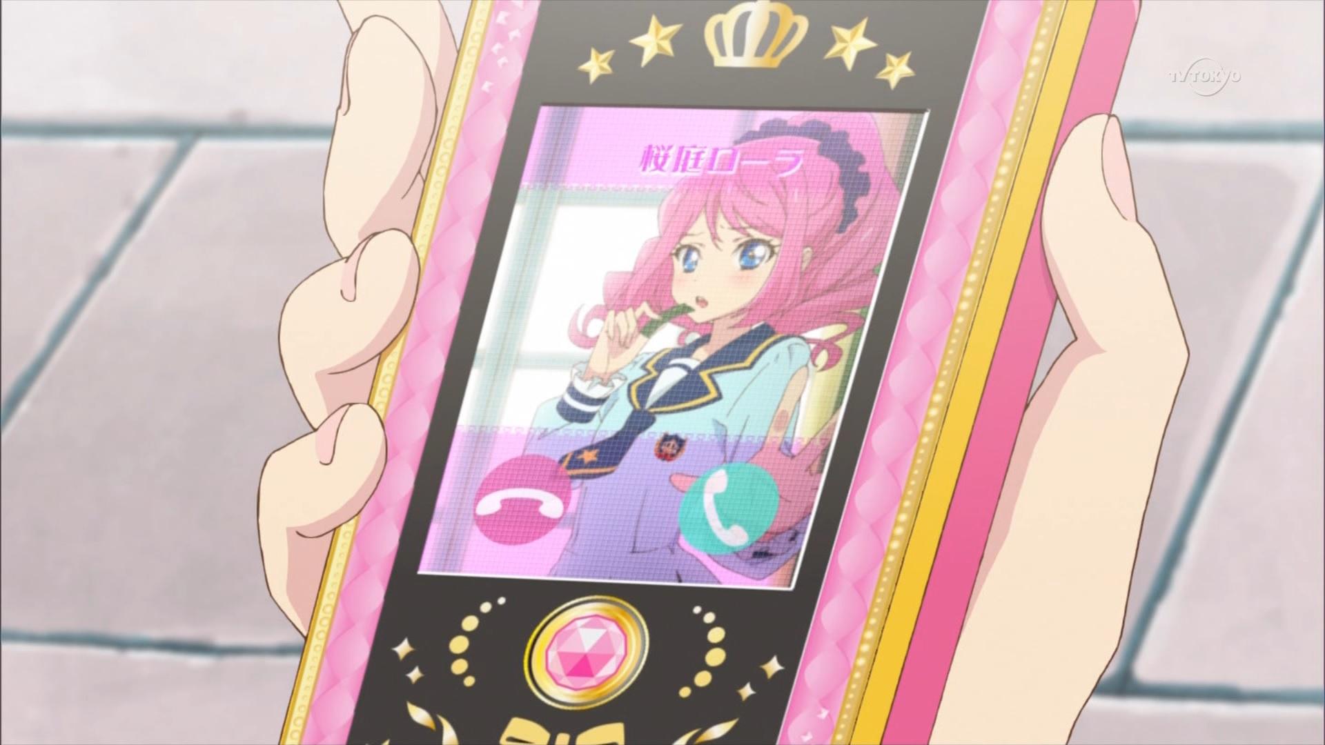 ローラの着信画面(第25話)