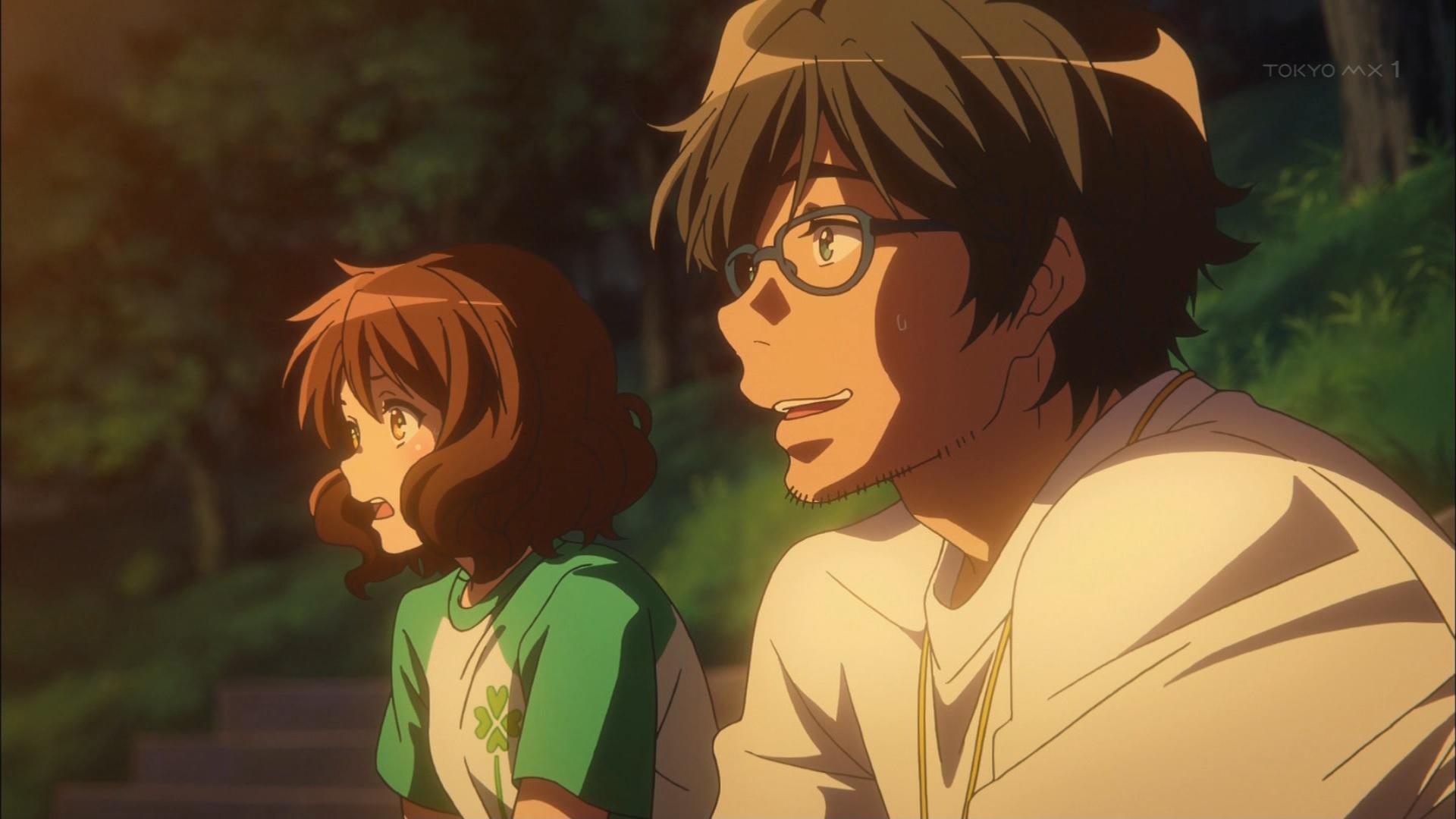 久美子と滝先生の奥さん持ちをバラす橋本先生(第3話)