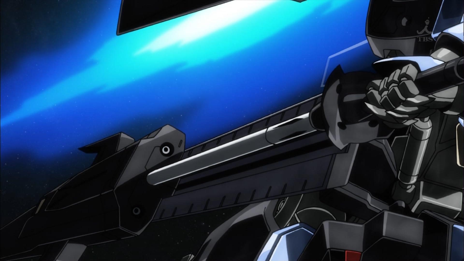 ガンダムヴィダールの槍(第34話画像)