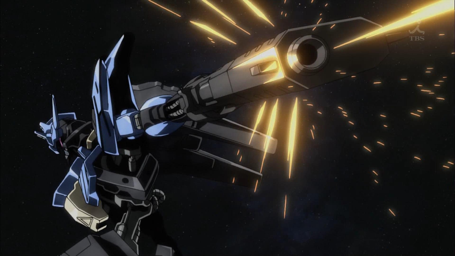 ガンダムヴィダールの二丁拳銃(第34話画像)