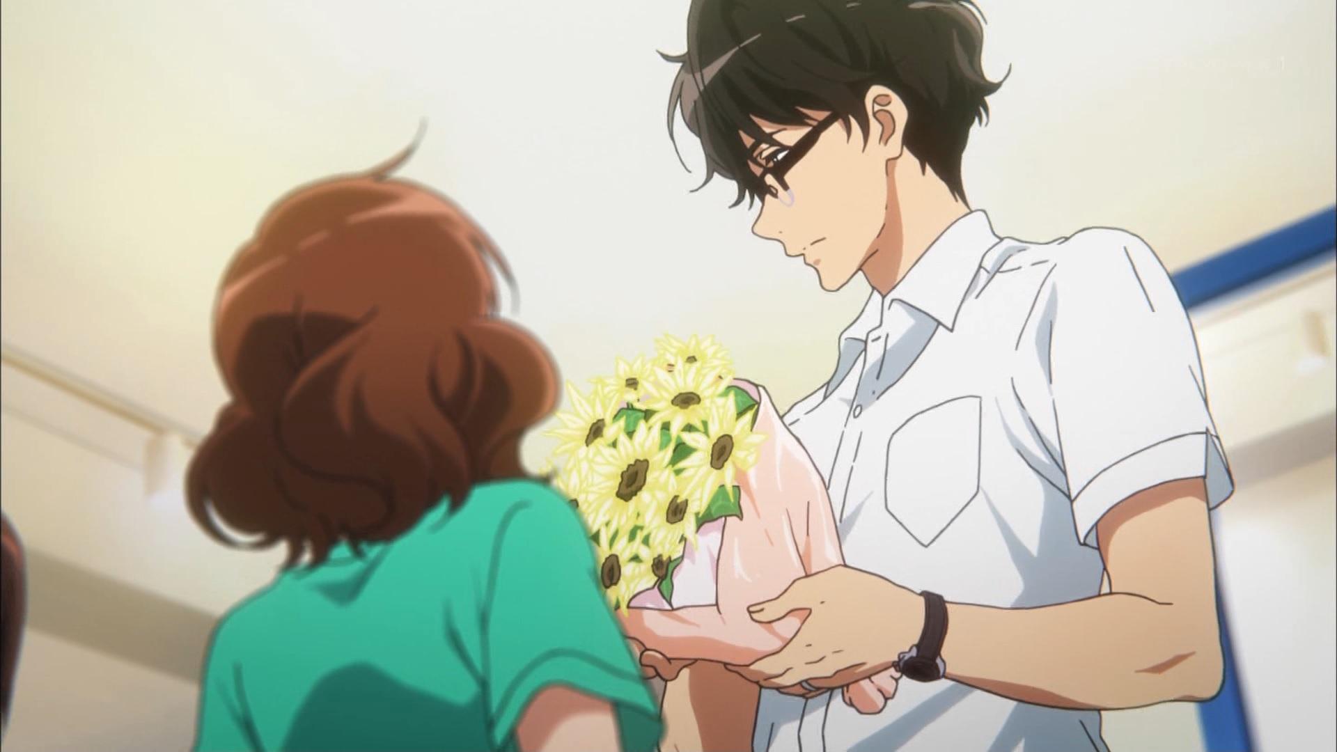 滝先生と久美子(第6話画像)