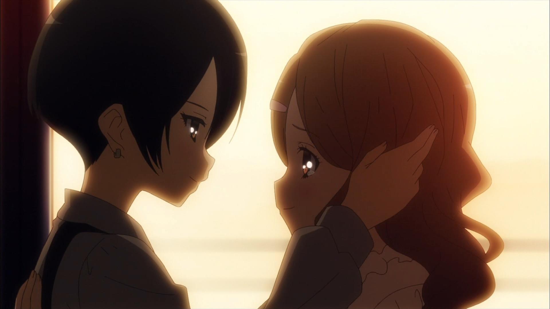 亜柊雫と羽二重奈々(第7話画像)