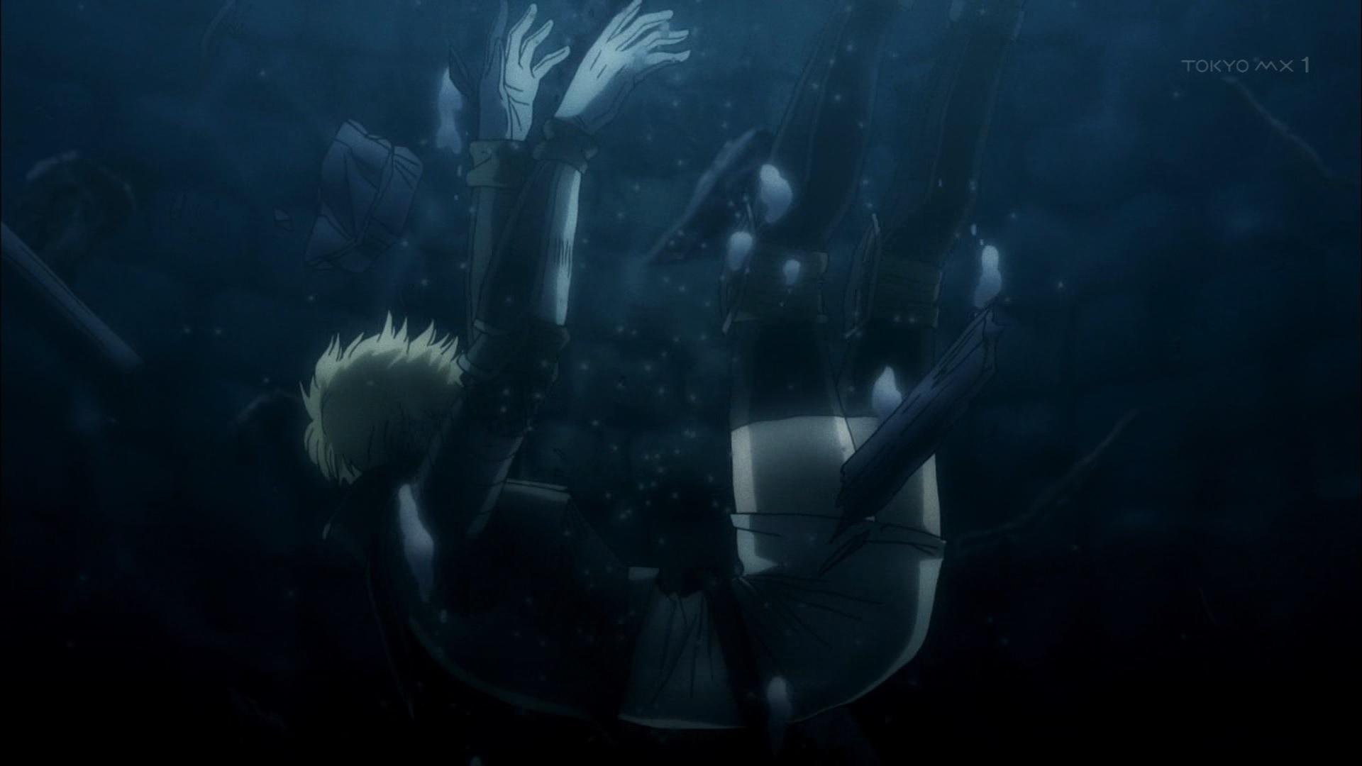 井戸に落ちるジャンヌダルク(第7話画像)