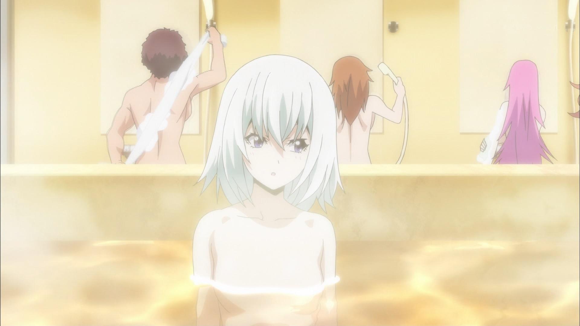 風呂に入る宮田さやか(第7話画像)