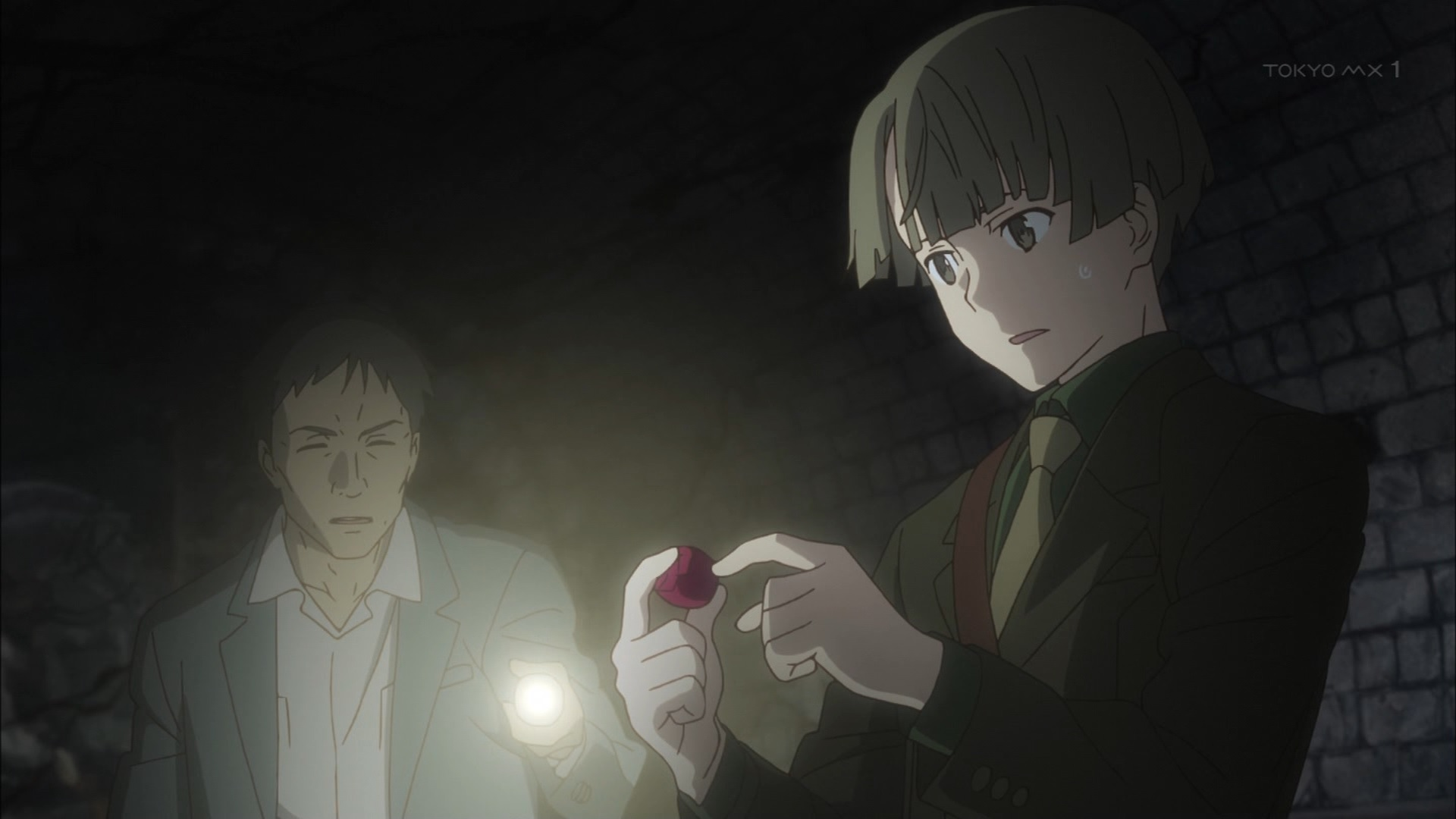 リッケルトと謎の石(第8話画像)