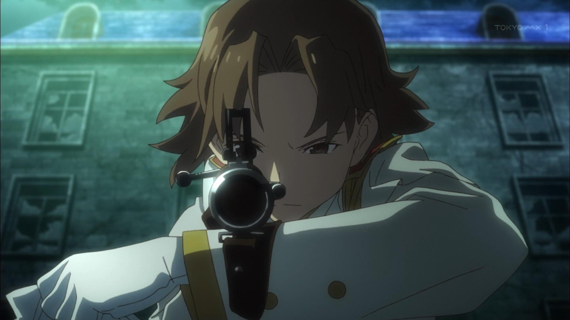 女スナイパー(第8話画像)