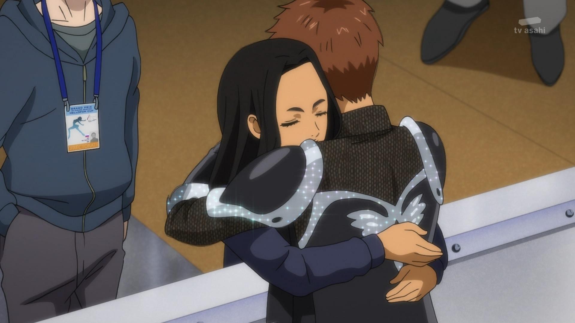 ミケーレ・クリスピーノとサーラ・クリスピーノ(第8話画像)