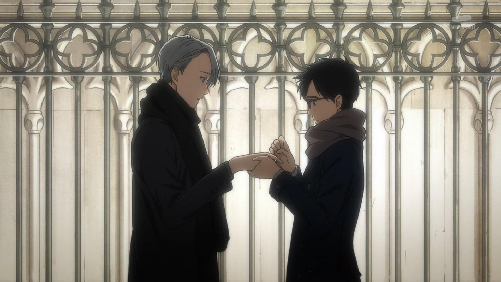 ヴィク勇の結婚式(第10話画像)