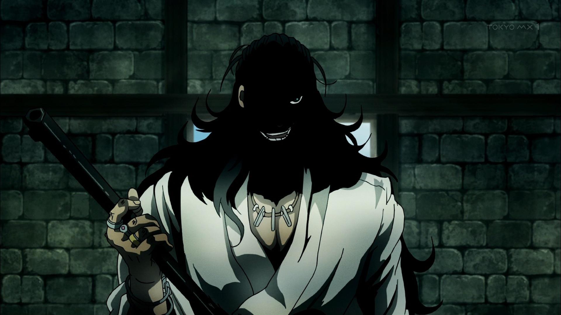織田信長と鉄砲(第10話画像)