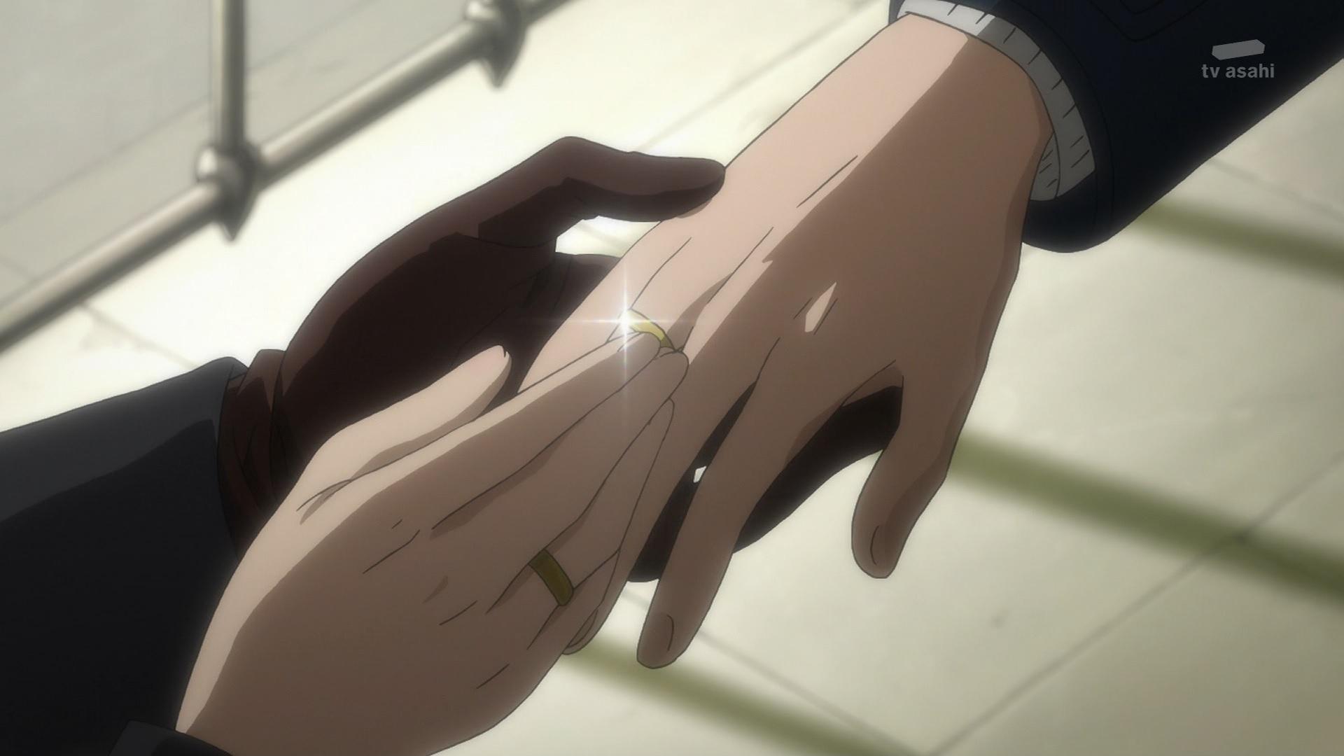 ヴィク勇の結婚指輪(第10話画像)