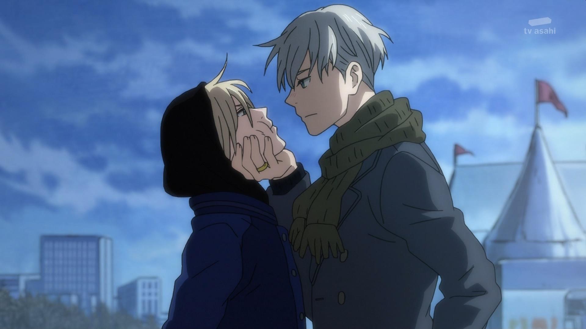 ヴィクトルとユリオ(第10話画像)