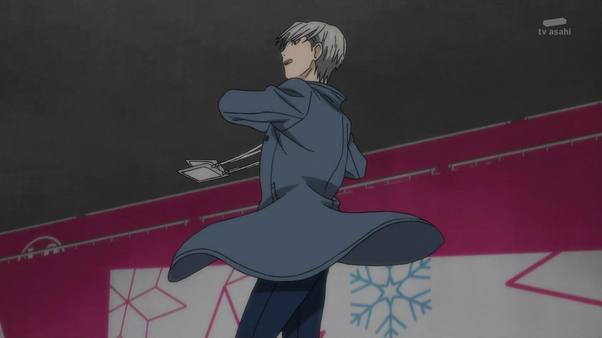 ヴィクトルのジャンプ(第11話画像)