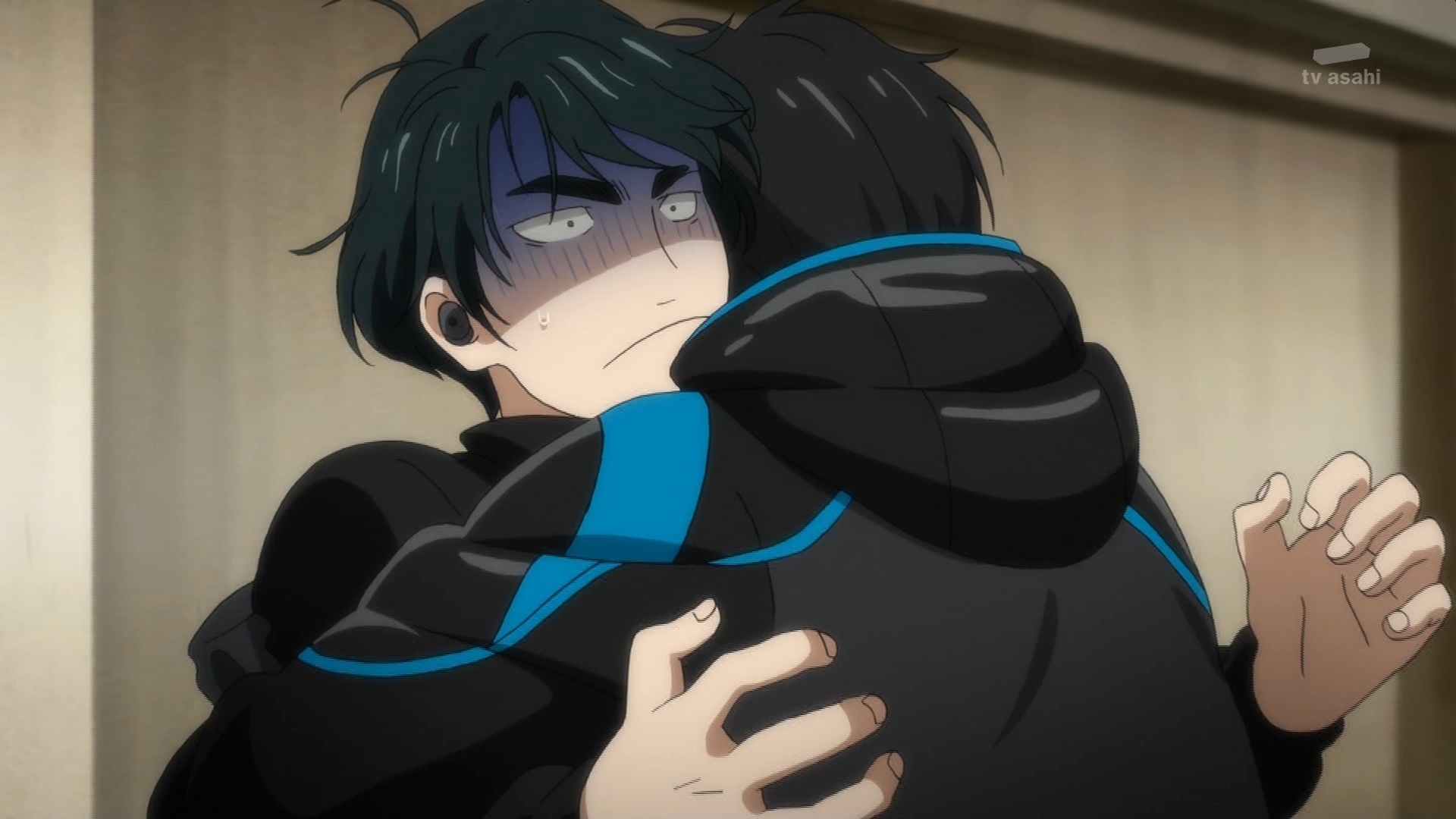 スンギルと勇利のハグ(第9話画像)