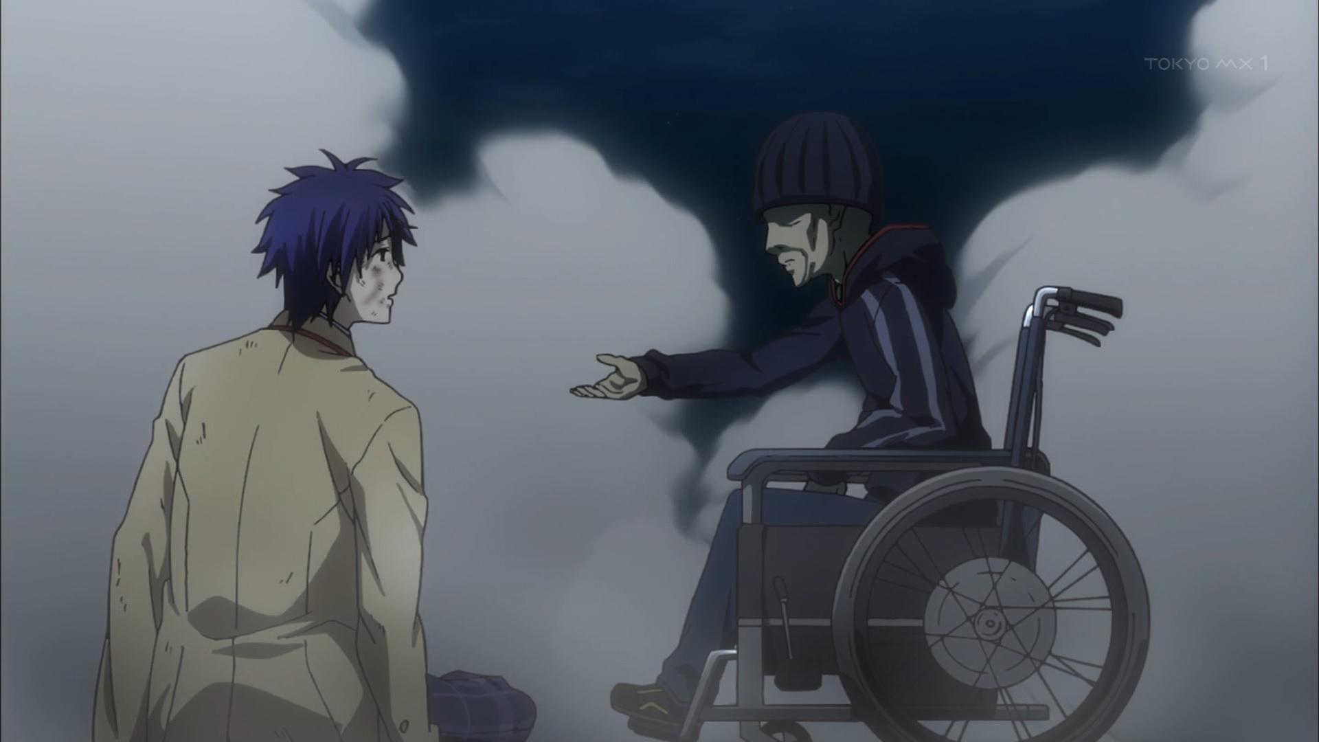 将軍と西條拓巳(第0話画像)
