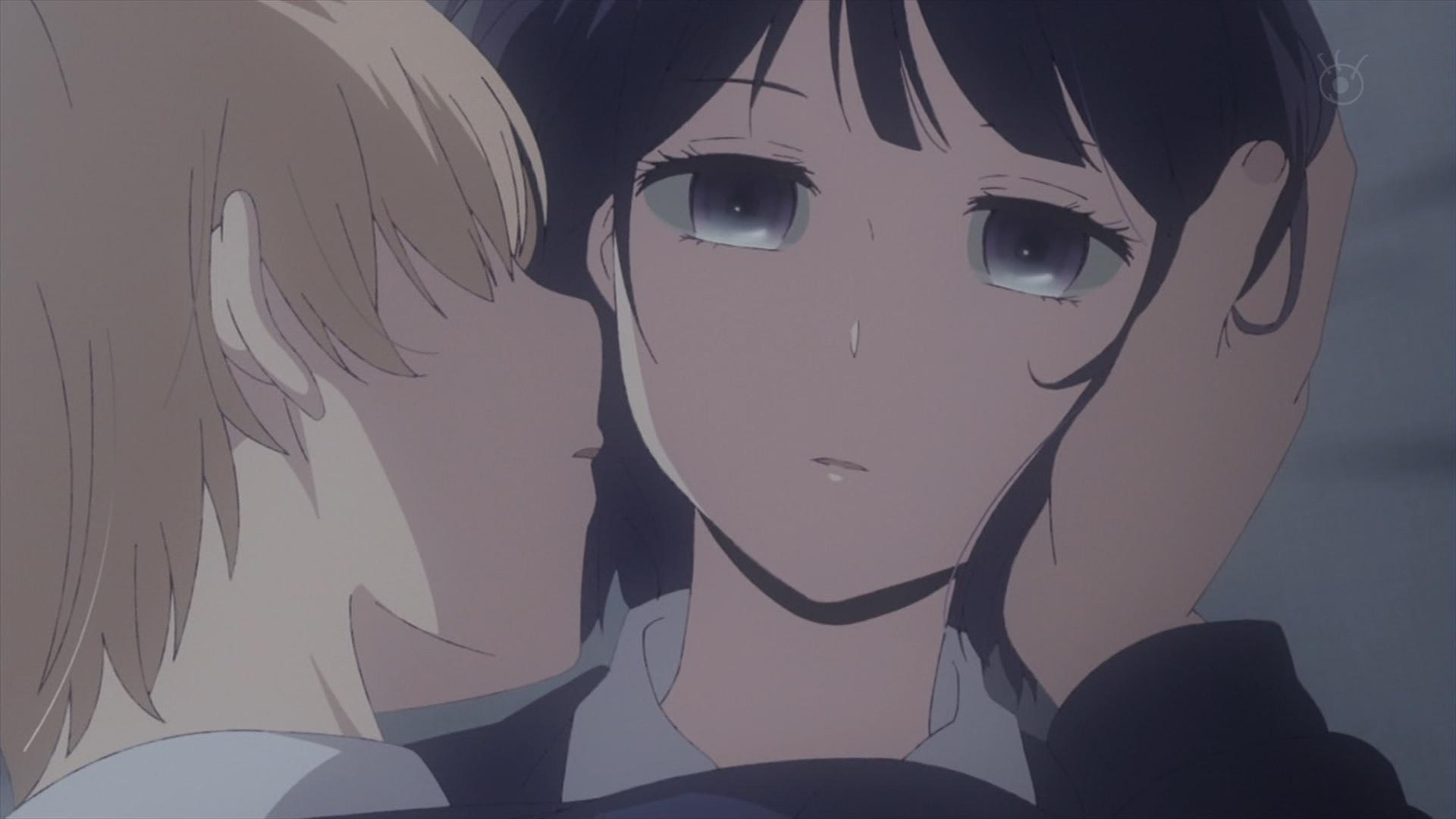 麦にキスされる花火(第1話画像)