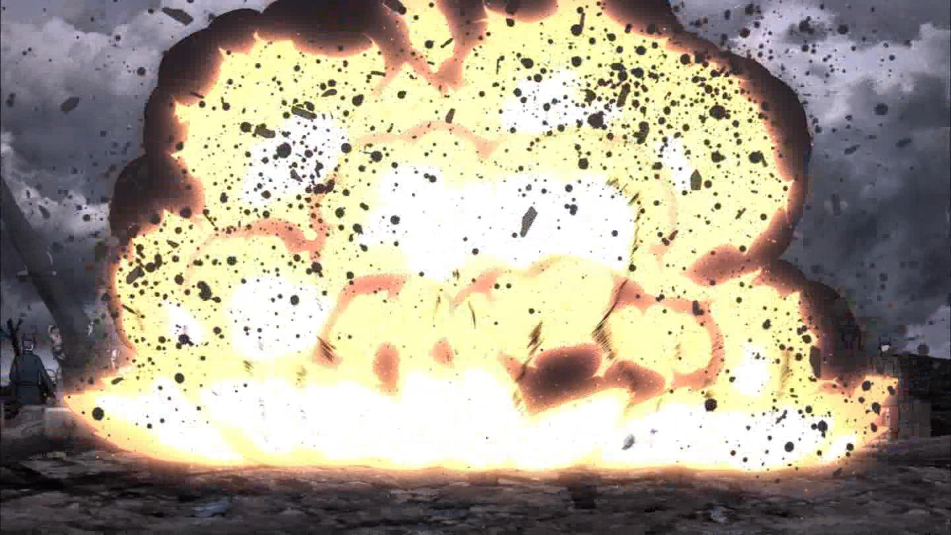 ターニャの攻撃(第1話画像)