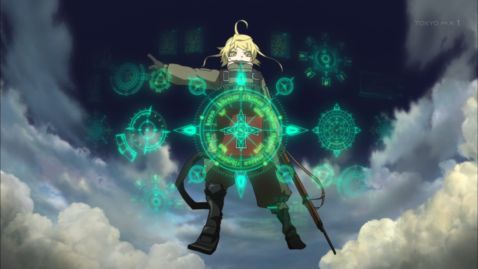 ターニャの魔法(第1話画像)