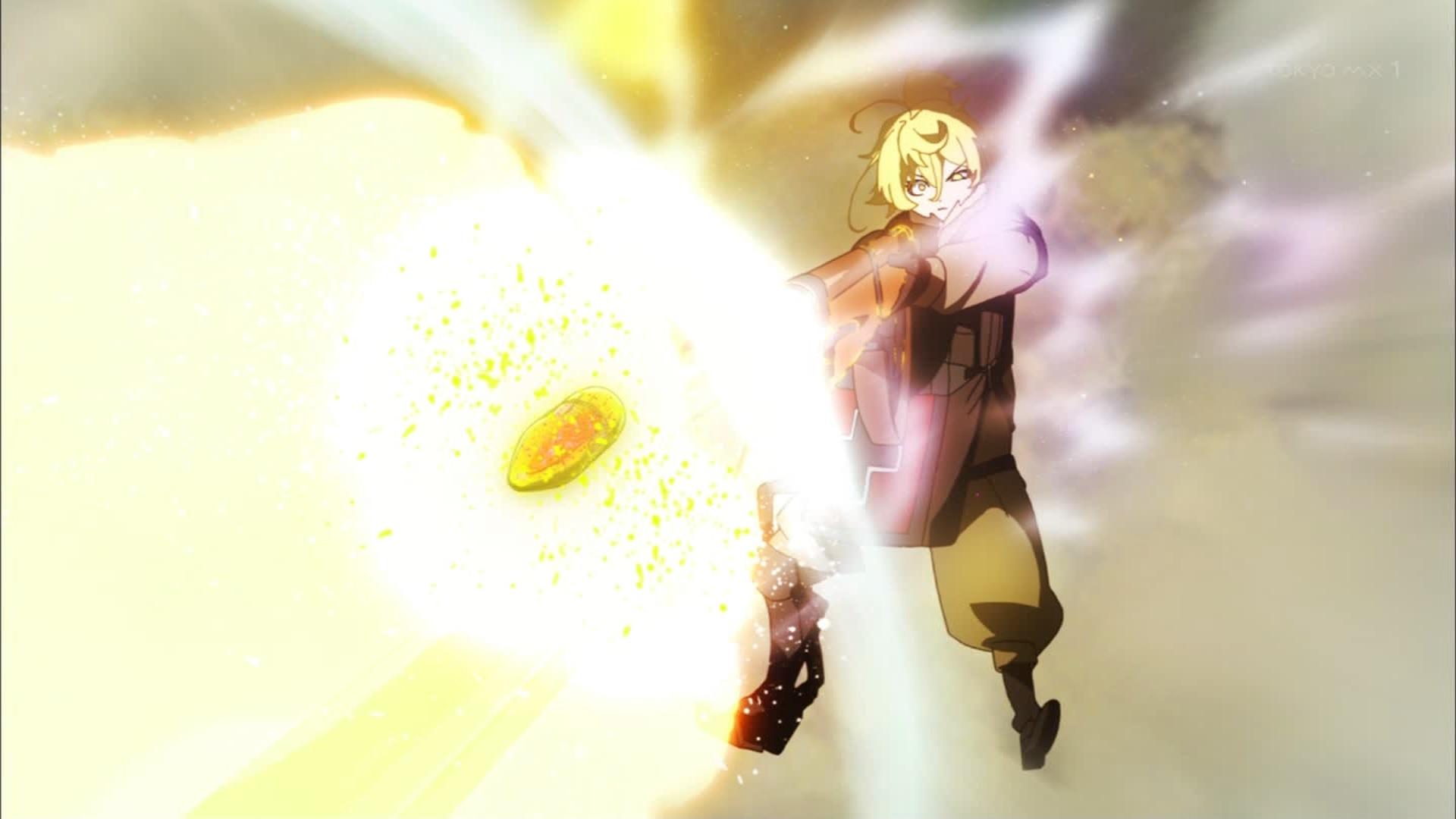 ターニャの砲撃(第1話画像)