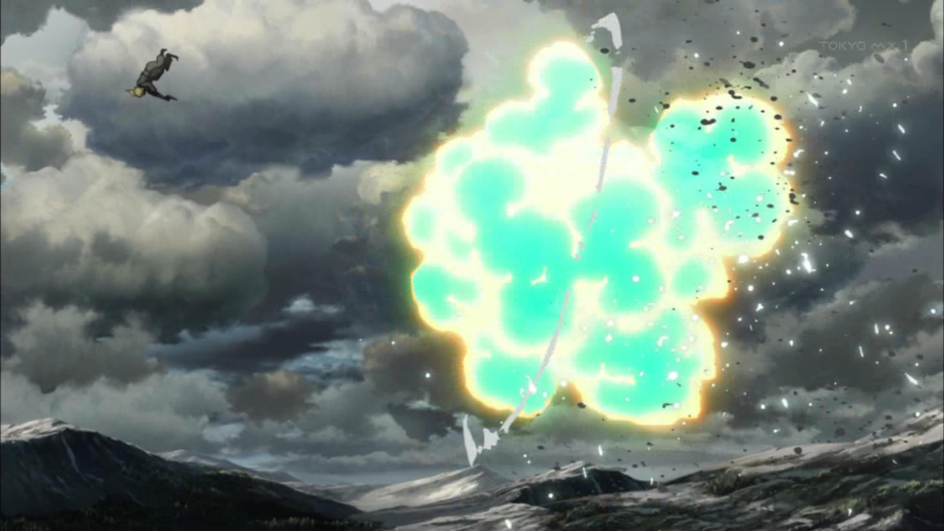 ターニャの戦闘シーン(第2話画像)