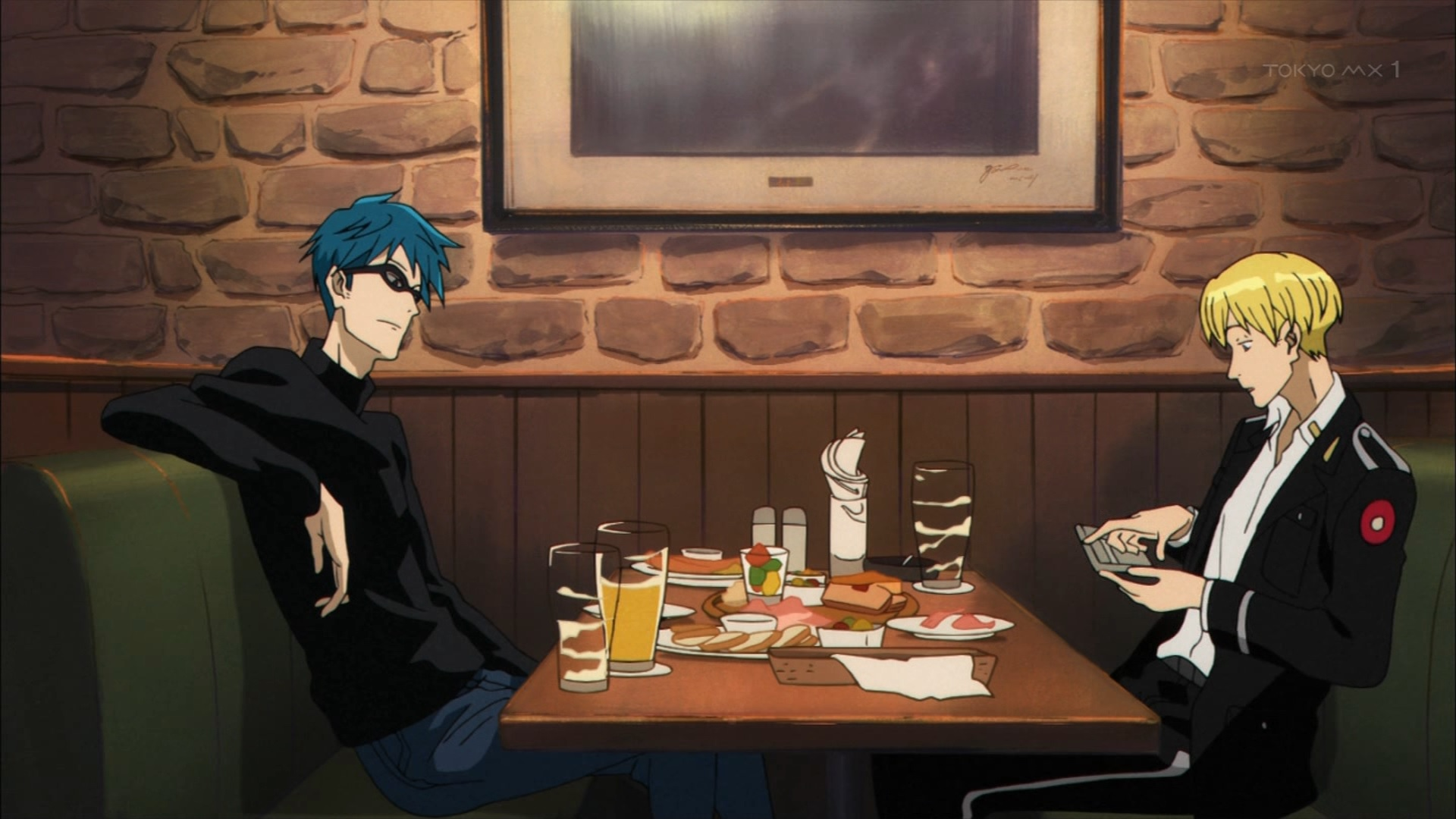 ジーンとニーノの飲み会(第2話画像)