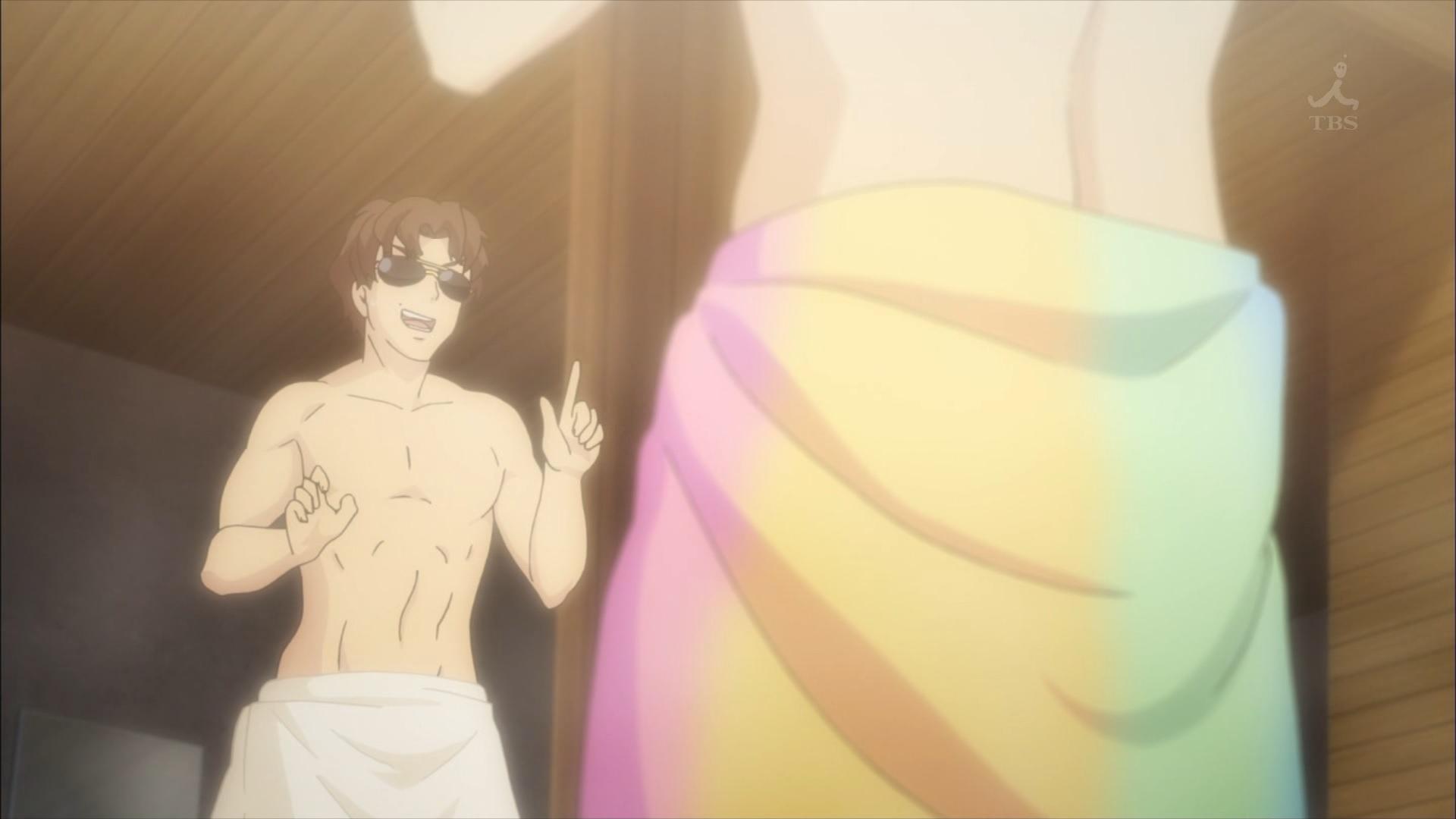 嘉味田正一とパレオ(第3話画像)