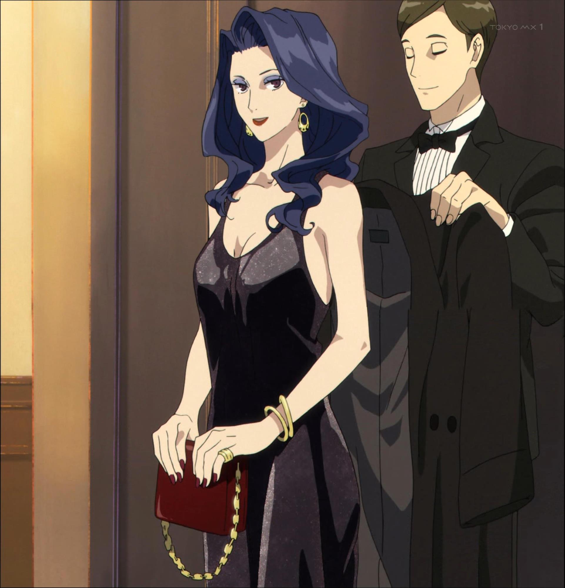 モーヴのドレス(第3話画像)