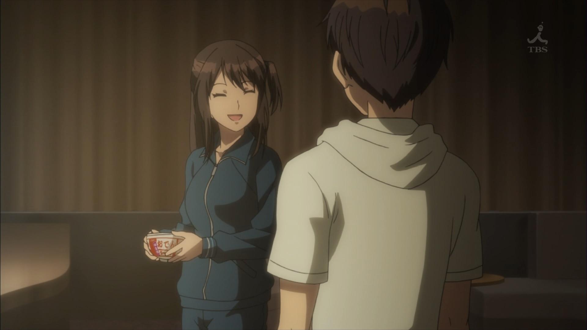 常木耀とラーメンのスープ(第3話画像)