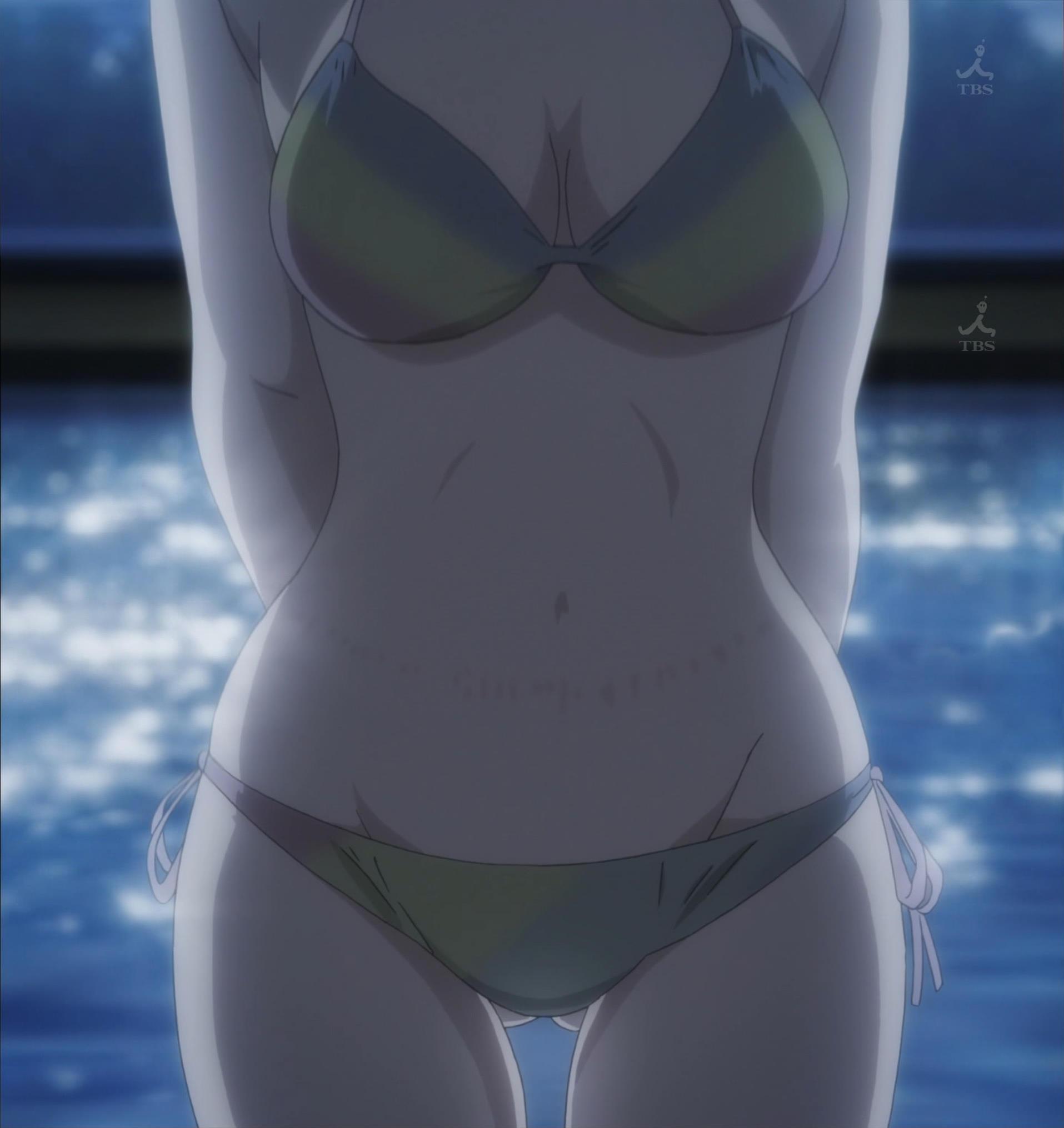常木耀の水着(第3話画像)