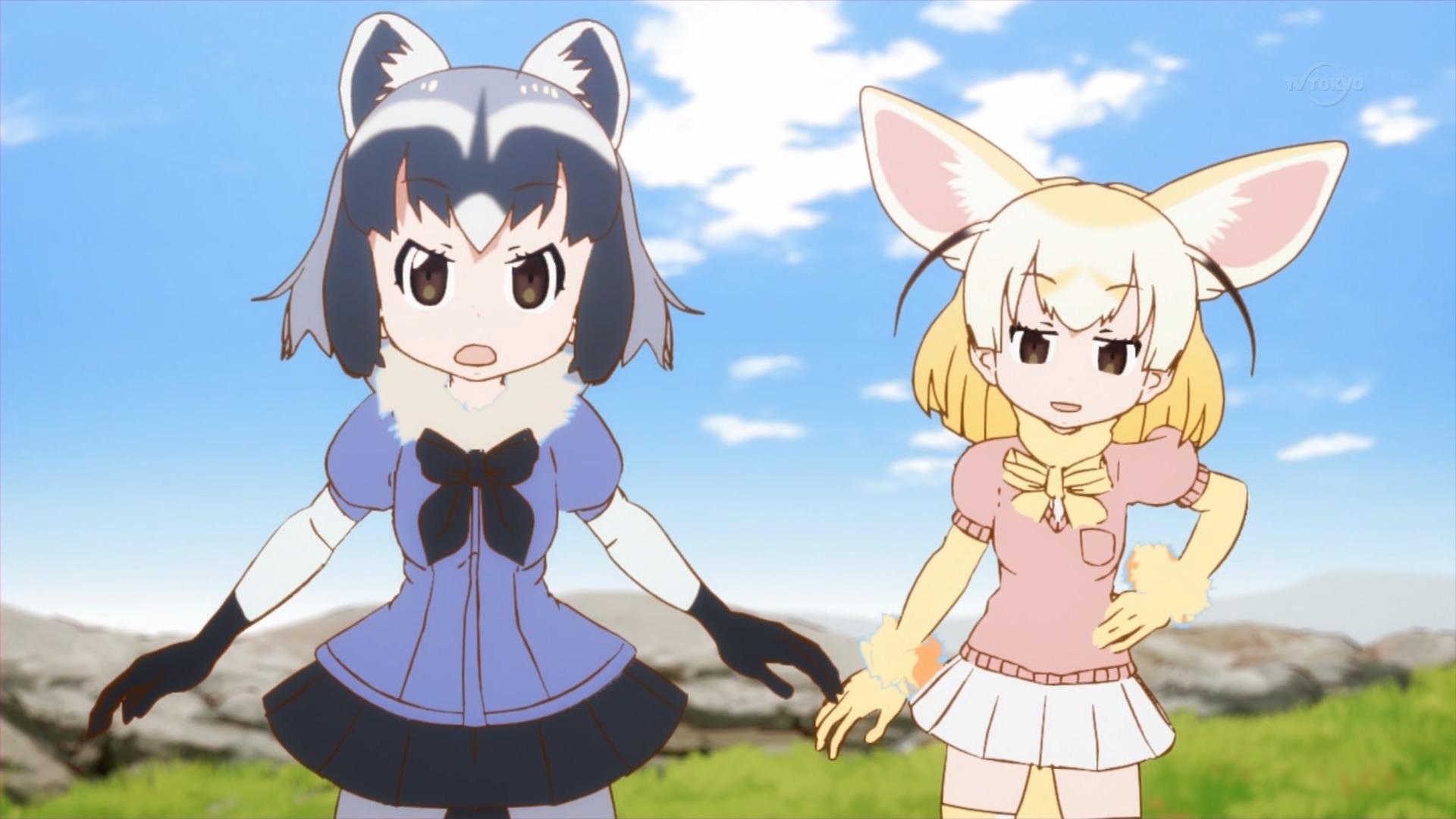 アライグマとフェネック(第3話画像)