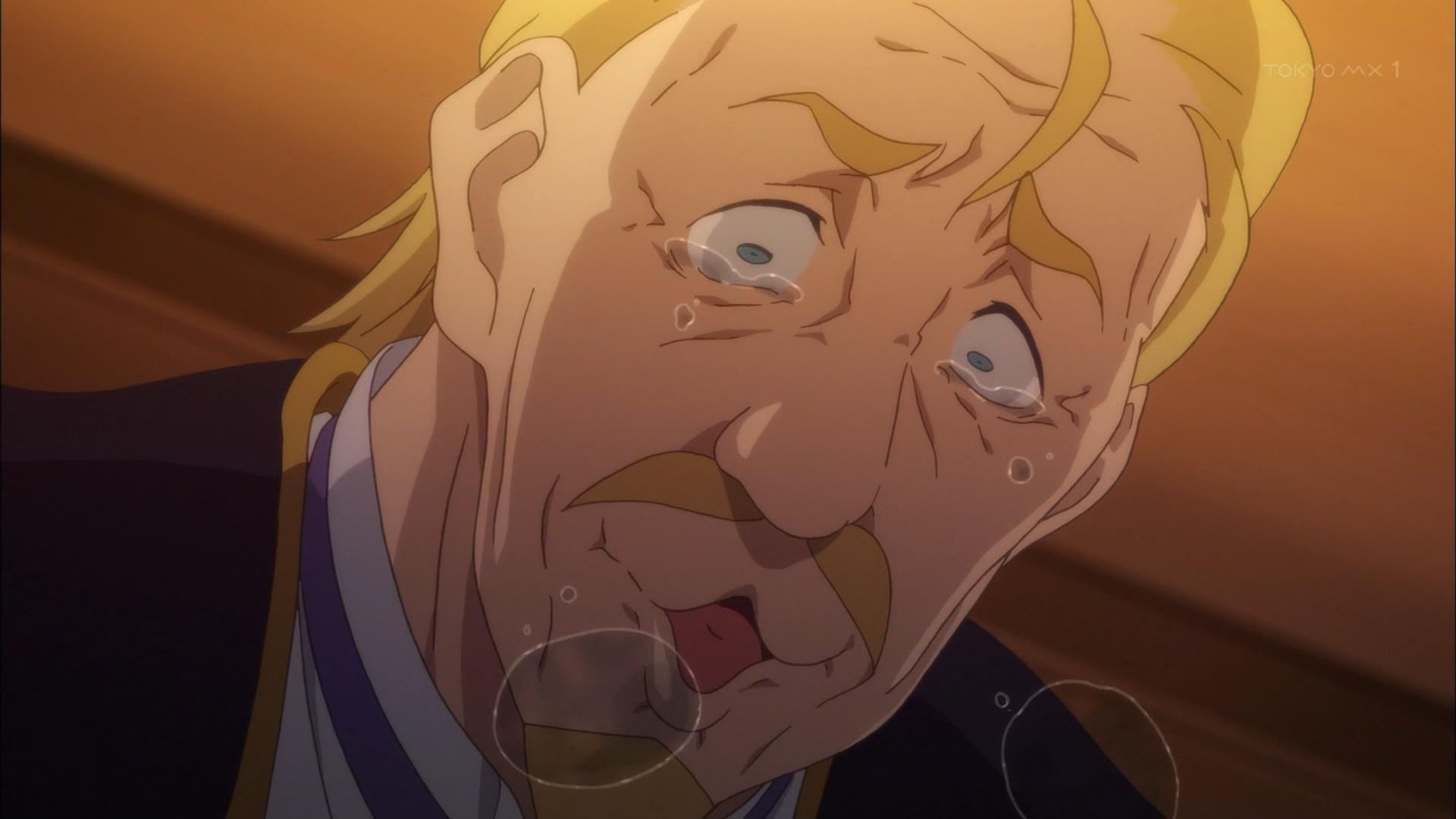 ダクネスの父の泣き顔(第4話画像)