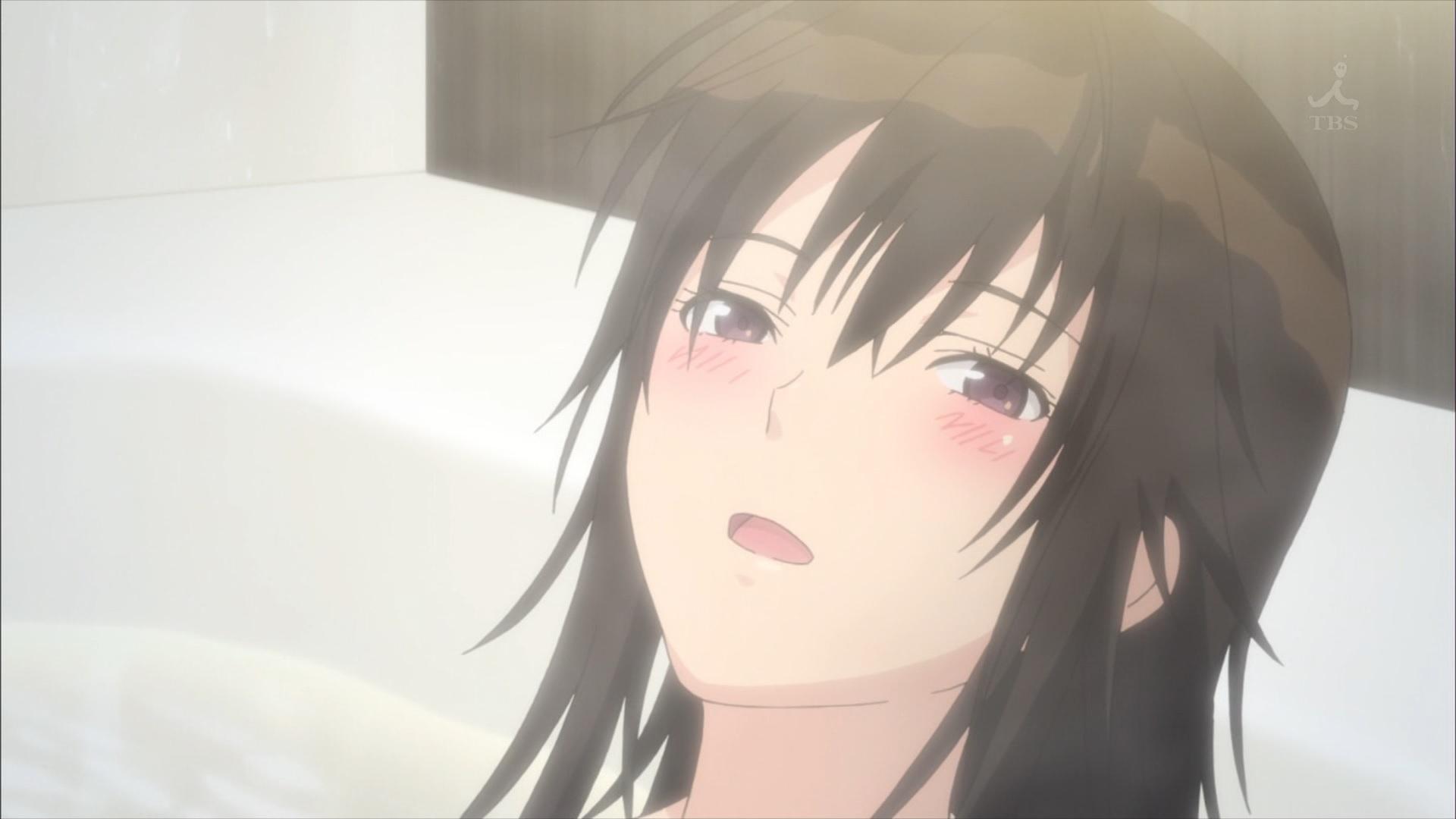 風呂に入る宮前透(第5話画像)