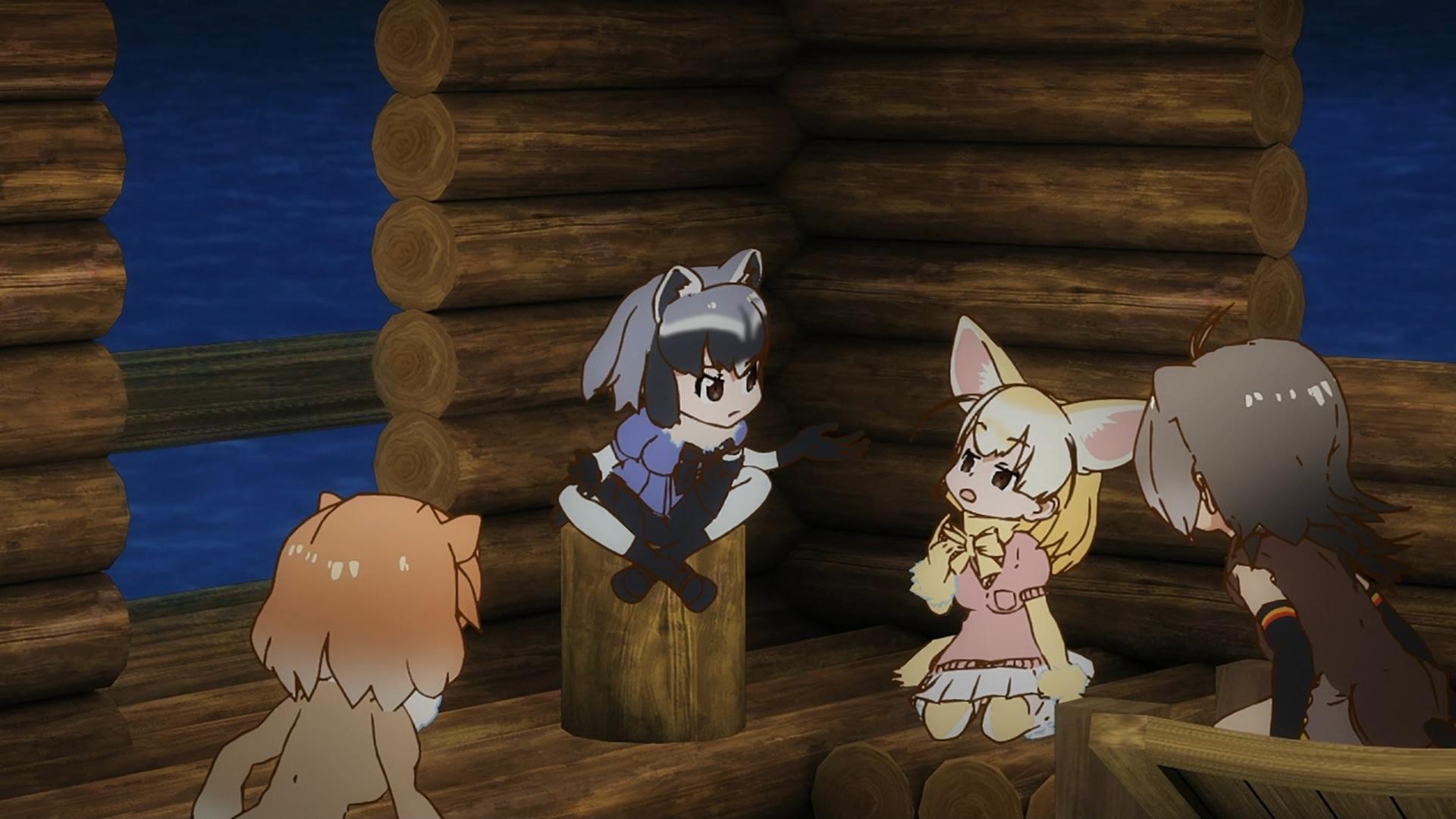 アライさんとフェネック(第7話画像)