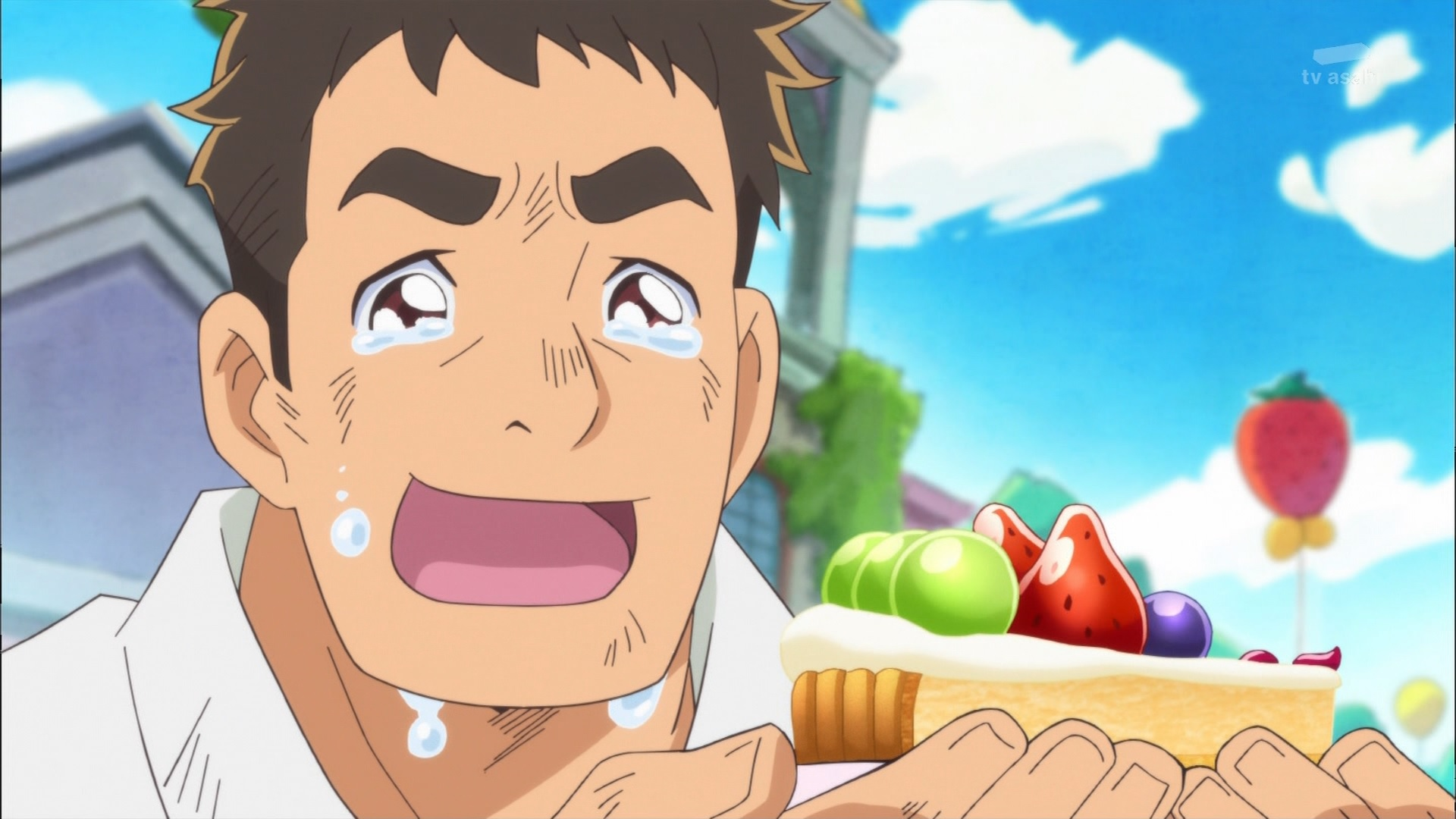泣くいちかパパ(キラキラプリキュアアラモード11話画像)
