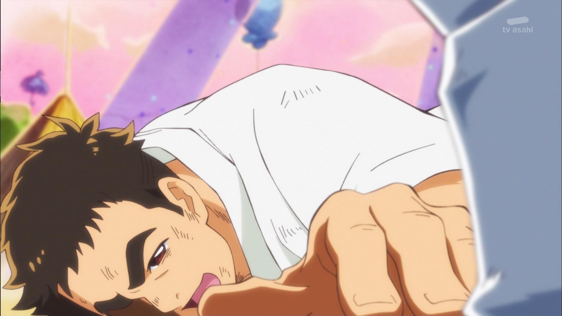 倒れる宇佐美いちかパパ(キラキラプリキュアアラモード11話画像)