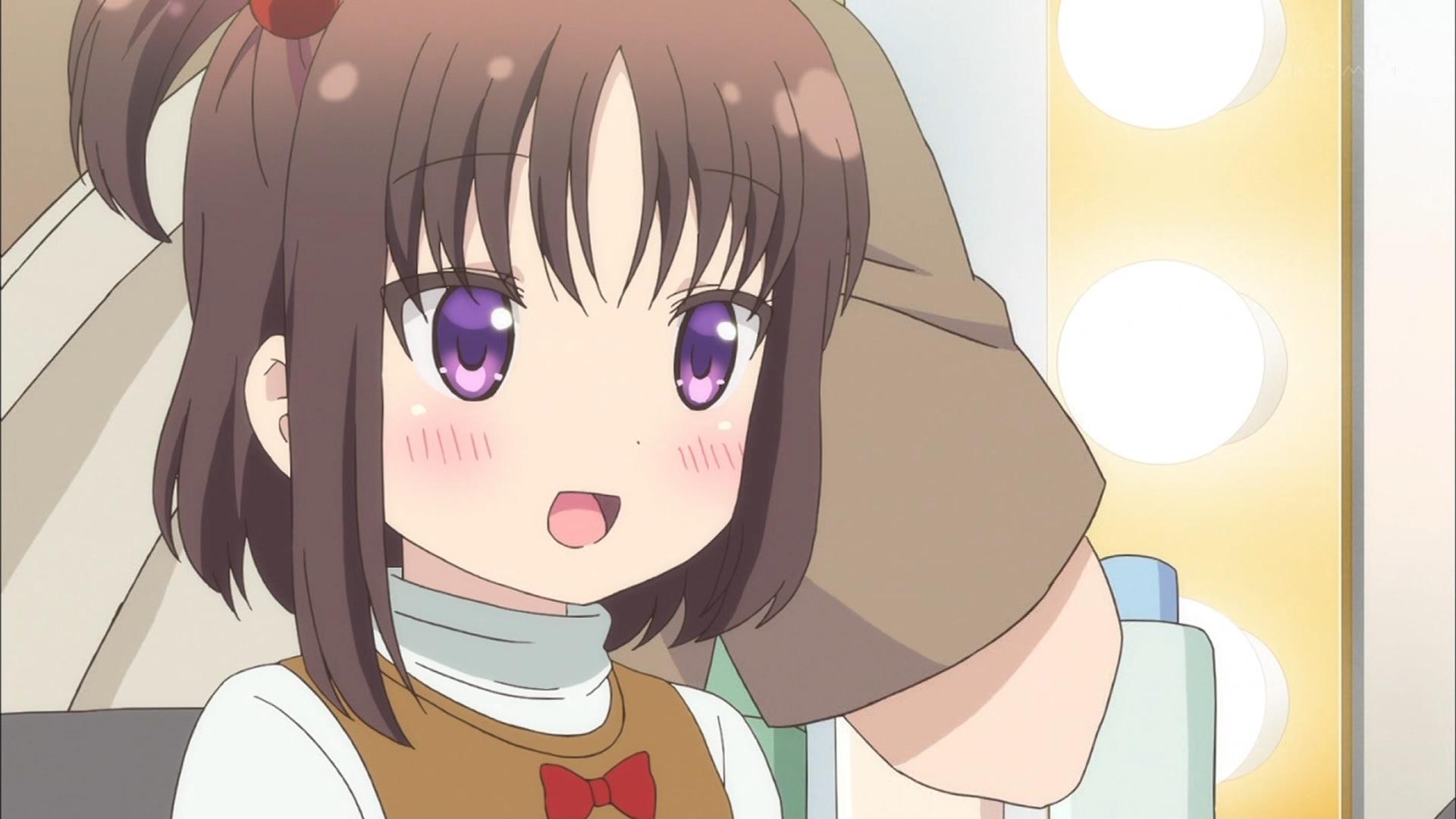 萩野千秋の幼少期(ひなこのーと2話画像)