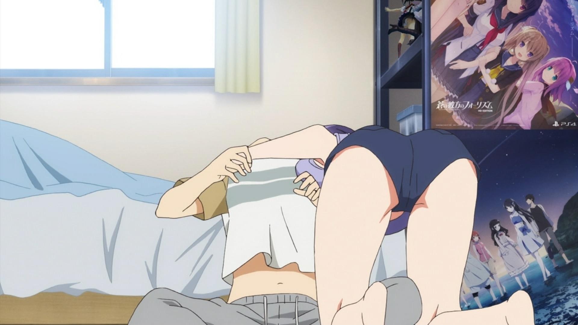 氷堂美智留の尻(冴えない彼女の育てかた♭3話画像)