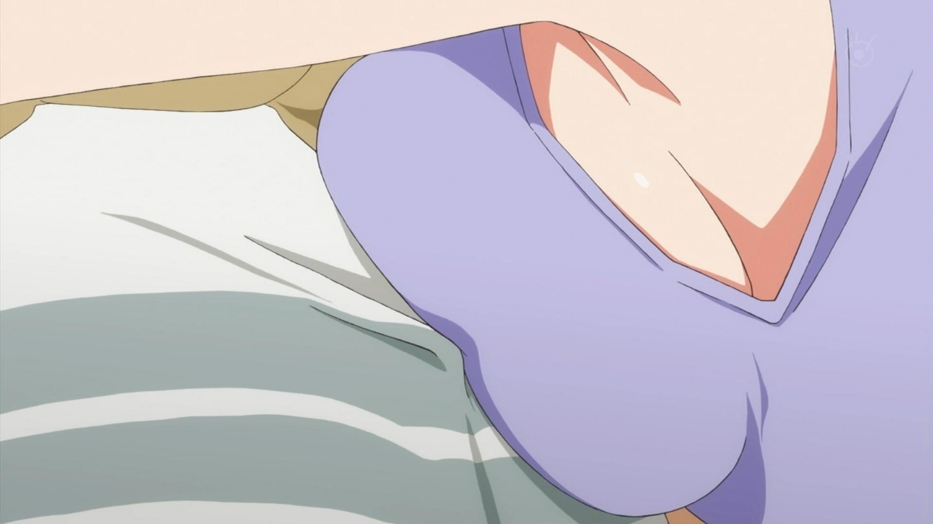 氷堂美智留の胸と腋(冴えない彼女の育てかた♭3話画像)