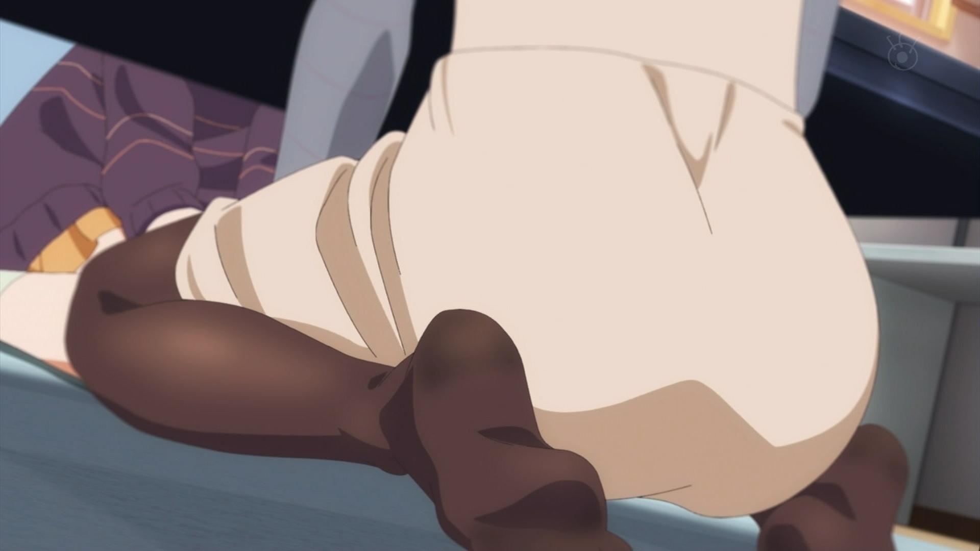森丘藍子の足裏(冴えない彼女の育てかた♭3話画像)