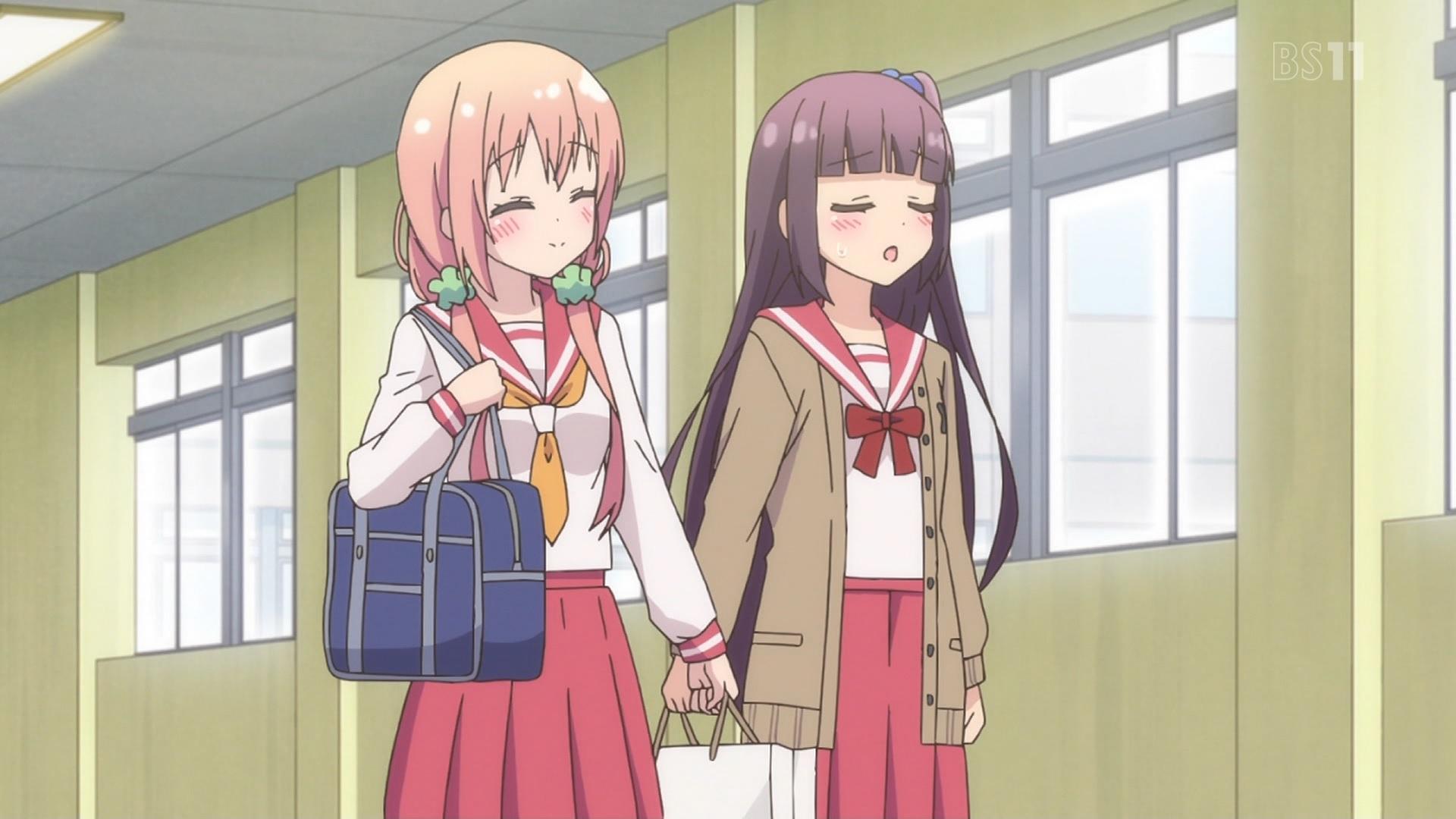 桜木ひな子と中島ゆあ(ひなこのーと3話画像)