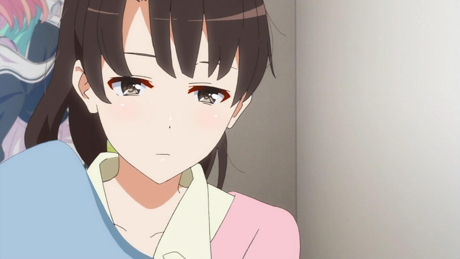 寝起きの加藤恵