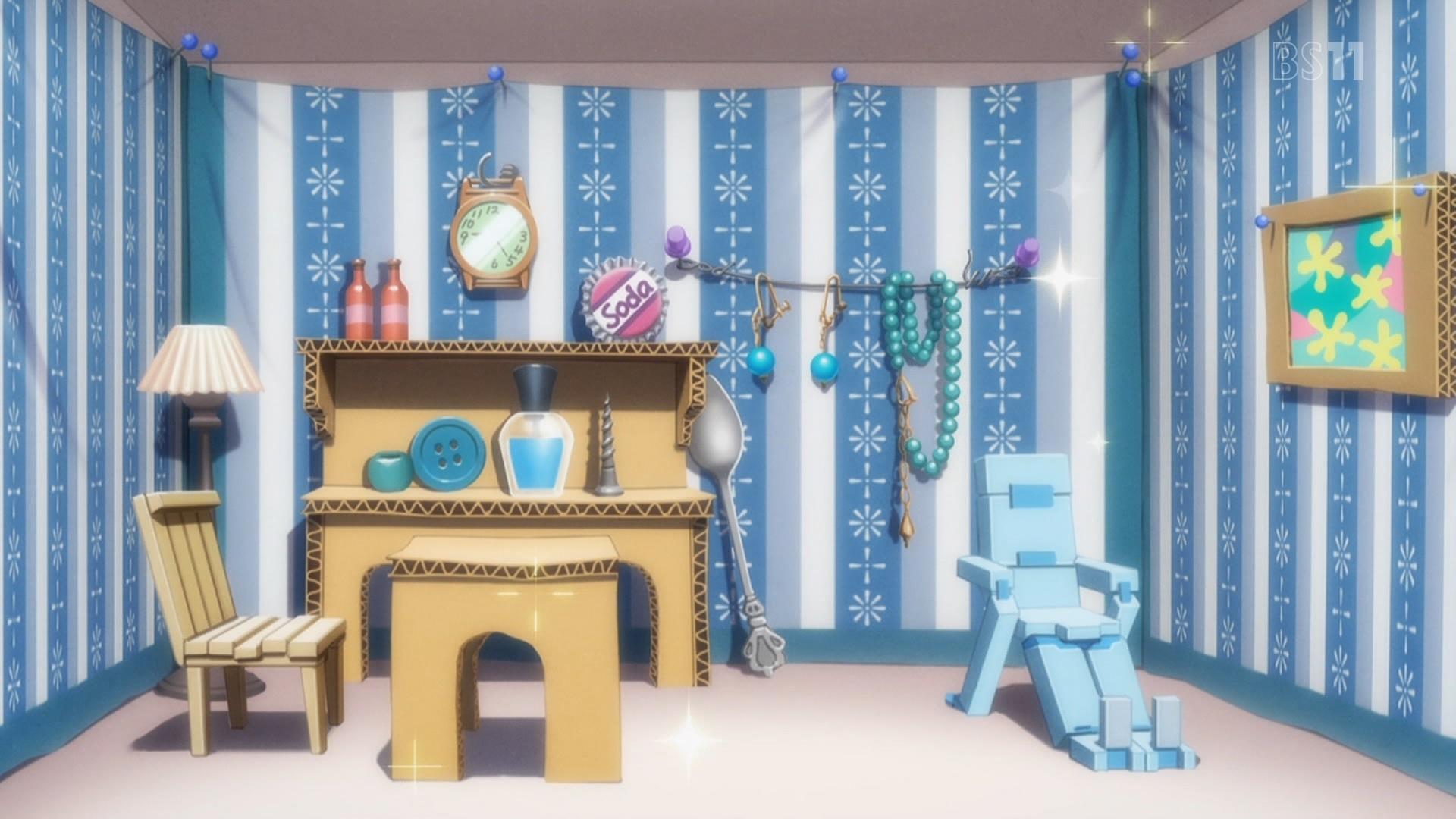 スティレットの部屋(フレームアームズ・ガール第4話画像)