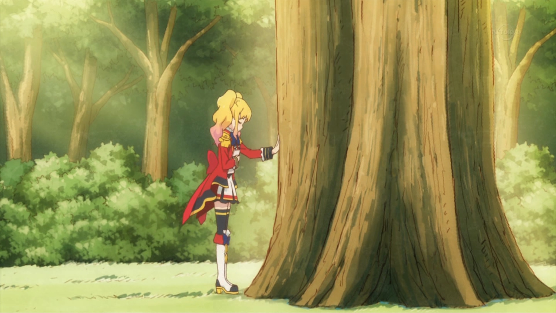 虹野ゆめとS4の樹(アイカツスターズ54話画像)