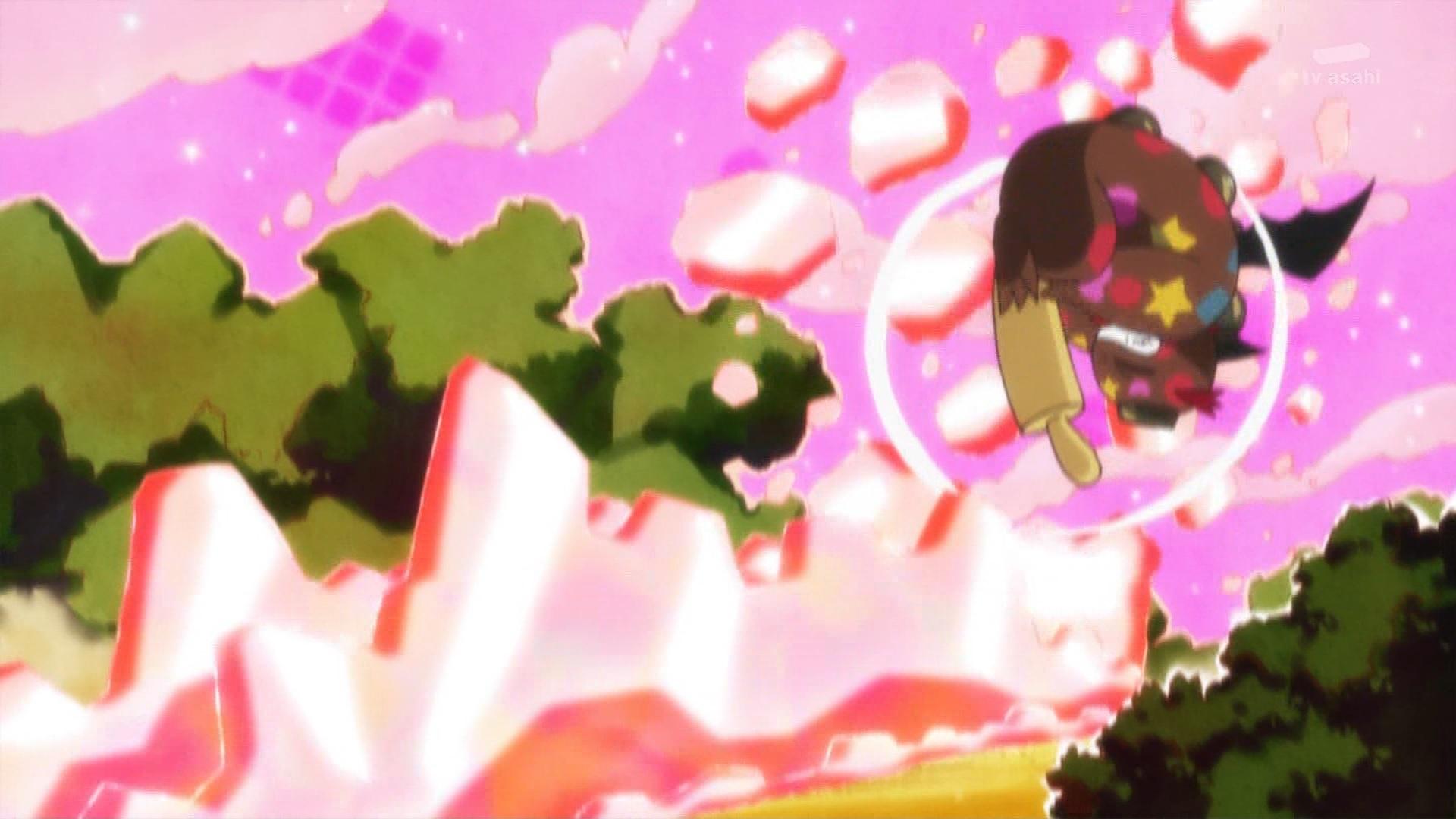 キュアショコラの盾(キラキラプリキュアアラモード9話画像)